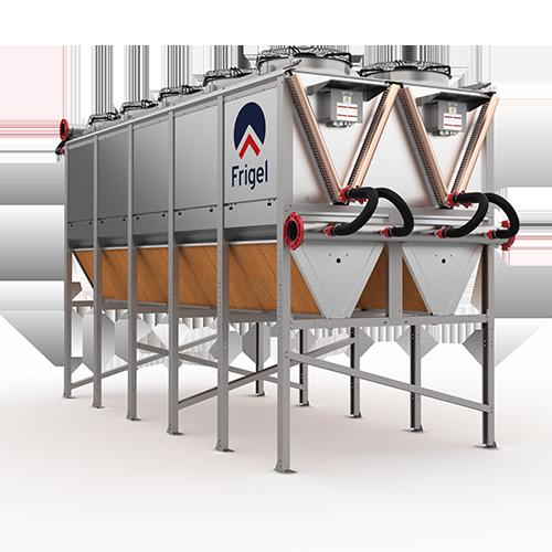 Sistema de refrigeración adiabático Ecodry