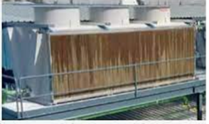 Inyección de agua en los paneles de un aeroenfriador convencional