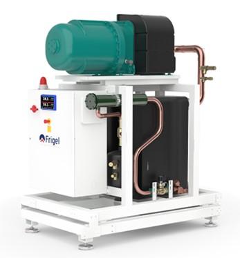 Enfriadora de agua industrial chiller modular